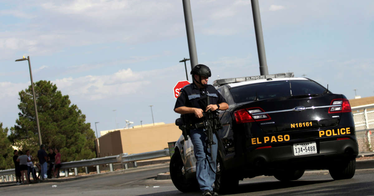 El Paso shooting to be probed as 'domestic terrorism'