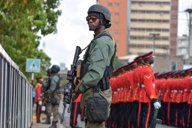 Keep away from drugs,' KDF official urges local athletes