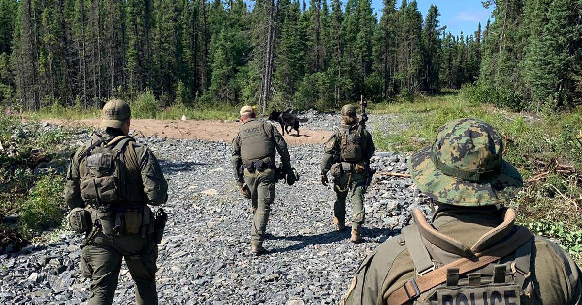 Canadian killer fugitives' trail of clues: Billowing smoke, sardine