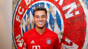 MUNICH, GERMANY - AUGUST 19: Newly signed player Philippe Coutinho of FC Bayern Muenchen poses for a picture at Saebener Strasse training ground on August 13, 2019 in Munich, Germany. (Photo by M. Donato/FC Bayern-Pool/Bongarts/Getty Images)