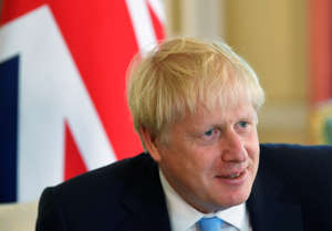 Britain's Prime Minister Boris Johnson