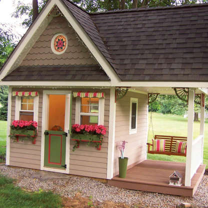 7 Dream Playhouses Any Kid Would Love
