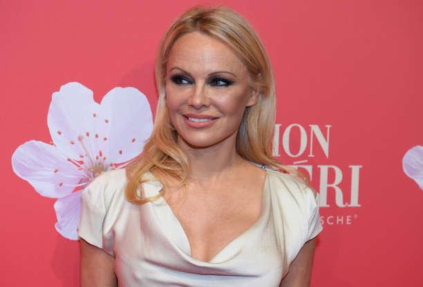 Pamela Anderson wears Baywatch swimsuit on dates