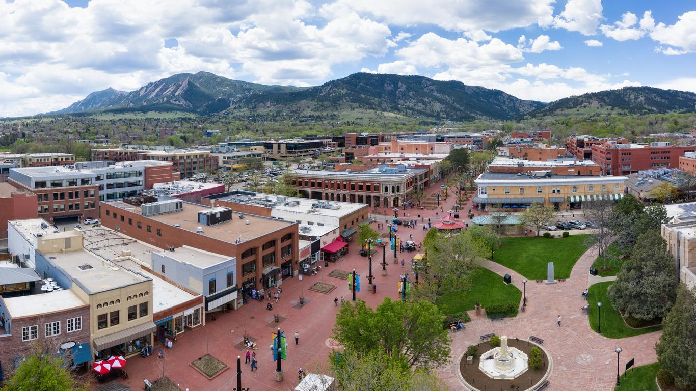 Slide 12 of 16: Head to the Rocky Mountains this summer and experience the great outdoors in Boulder, Colorado. Whether you're a foodie, craft beer lover or a hiking and mountain biking enthusiast, this city just 30 minutes outside of Denver is sure to pleasantly surprise.
