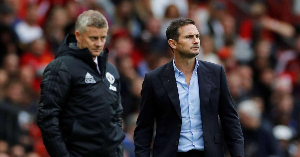 លទ្ធផលរូបភាពសម្រាប់ Sunday Supplement: Should Ole Gunnar Solskjaer and Frank Lampard get a free pass this season?