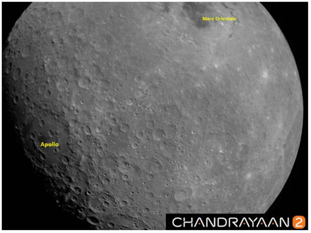 Chandrayaan-2 sends photo of Moon from 2,000 kms away