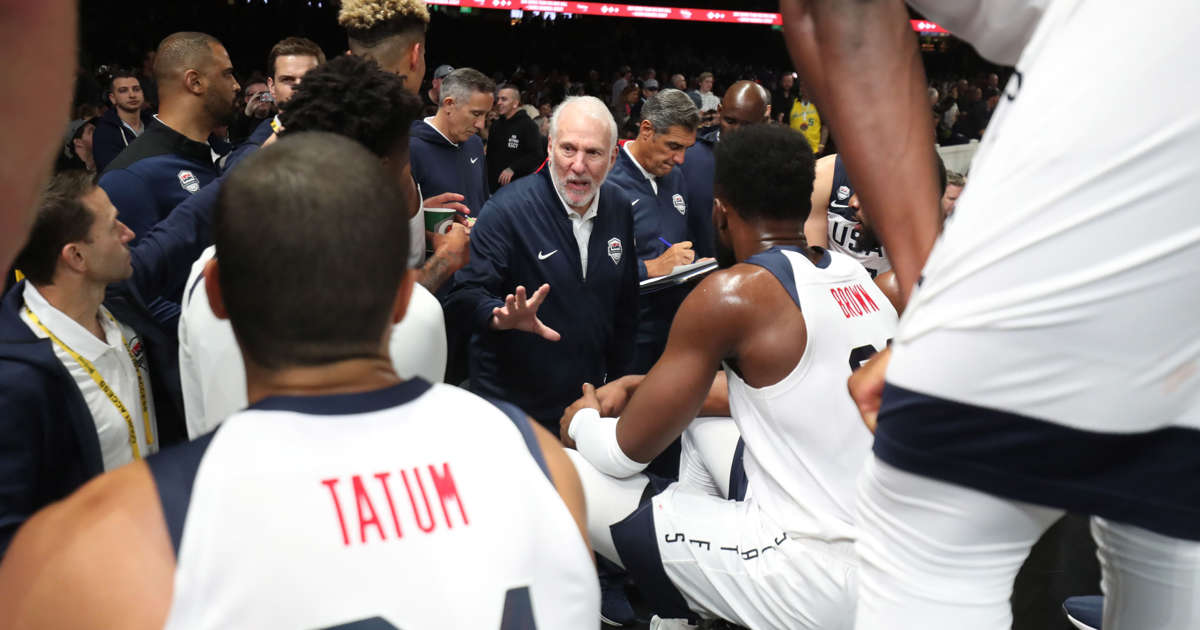 Team USA roster for FIBA World Cup has just one ex-Olympian