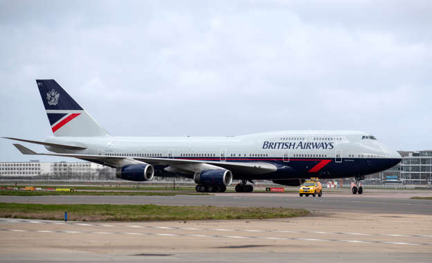 Possible 'fire on board' British Airways flight reportedly