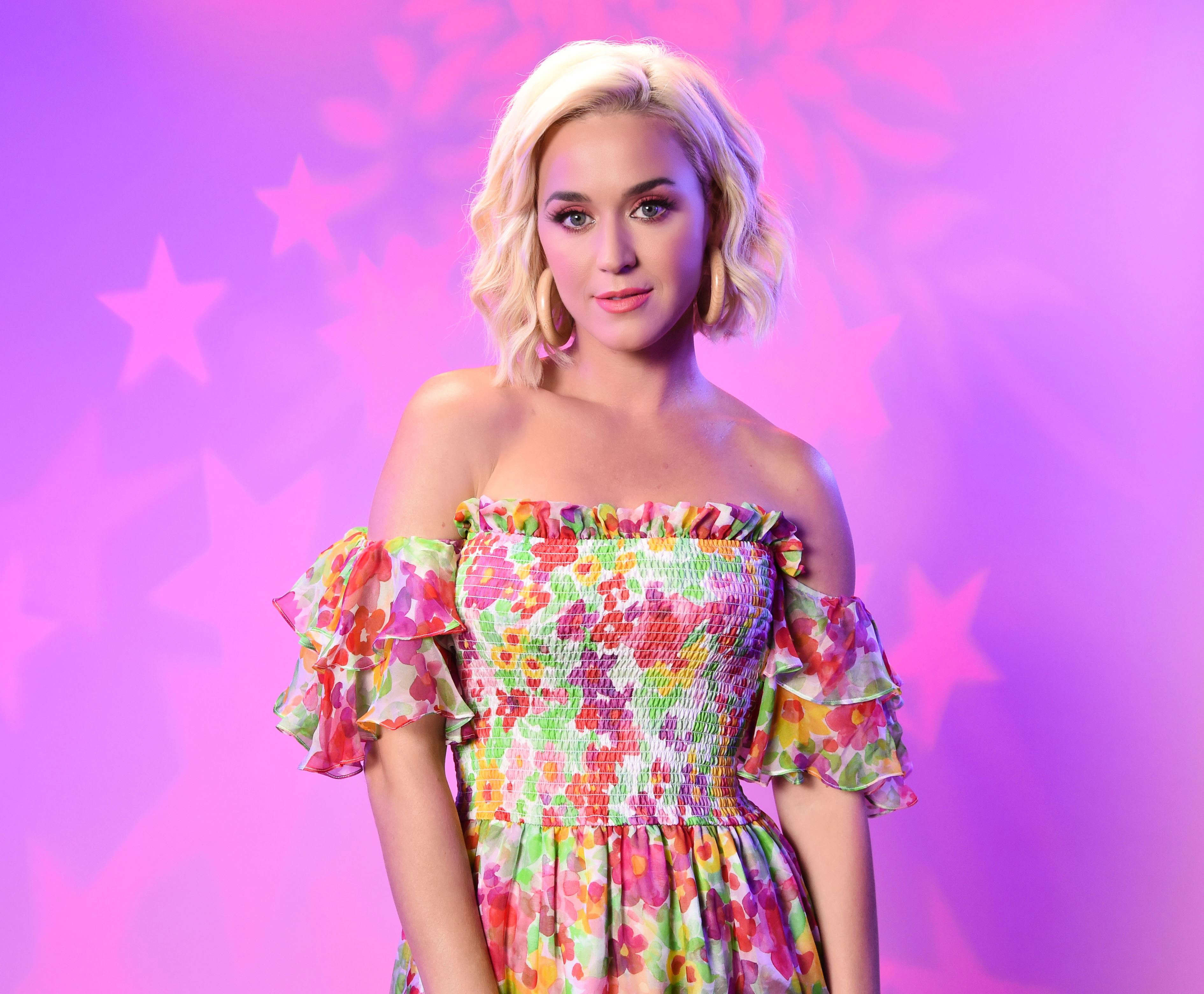 Slide 8 of 11: LOS ANGELES, CALIFORNIA - AUGUST 07: Katy Perry visits the SiriusXM Studios on August 07, 2019 in Los Angeles, California. (Photo by Michael Kovac/Getty Images for SiriusXM)