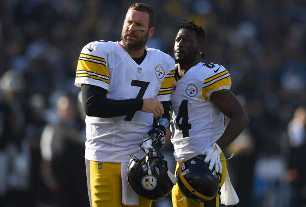 the latest b45f7 d3861 Antonio Brown has a cold reply to Ben Roethlisberger's ...