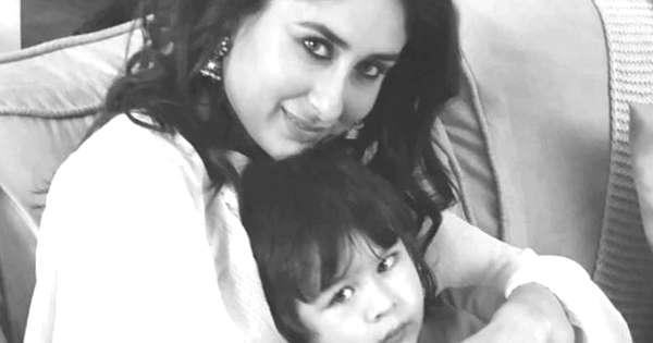 Kareena Kapoor has son Taimur on the sets, this charming