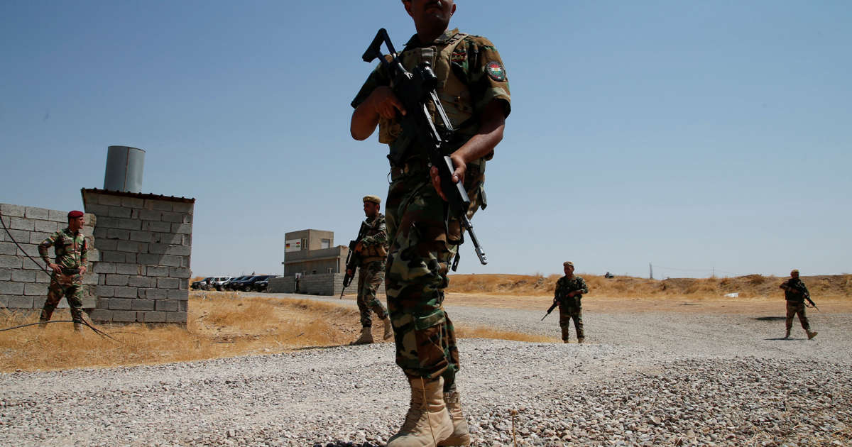 Gunmen kill four Iraqi soldiers at checkpoint in Anbar province