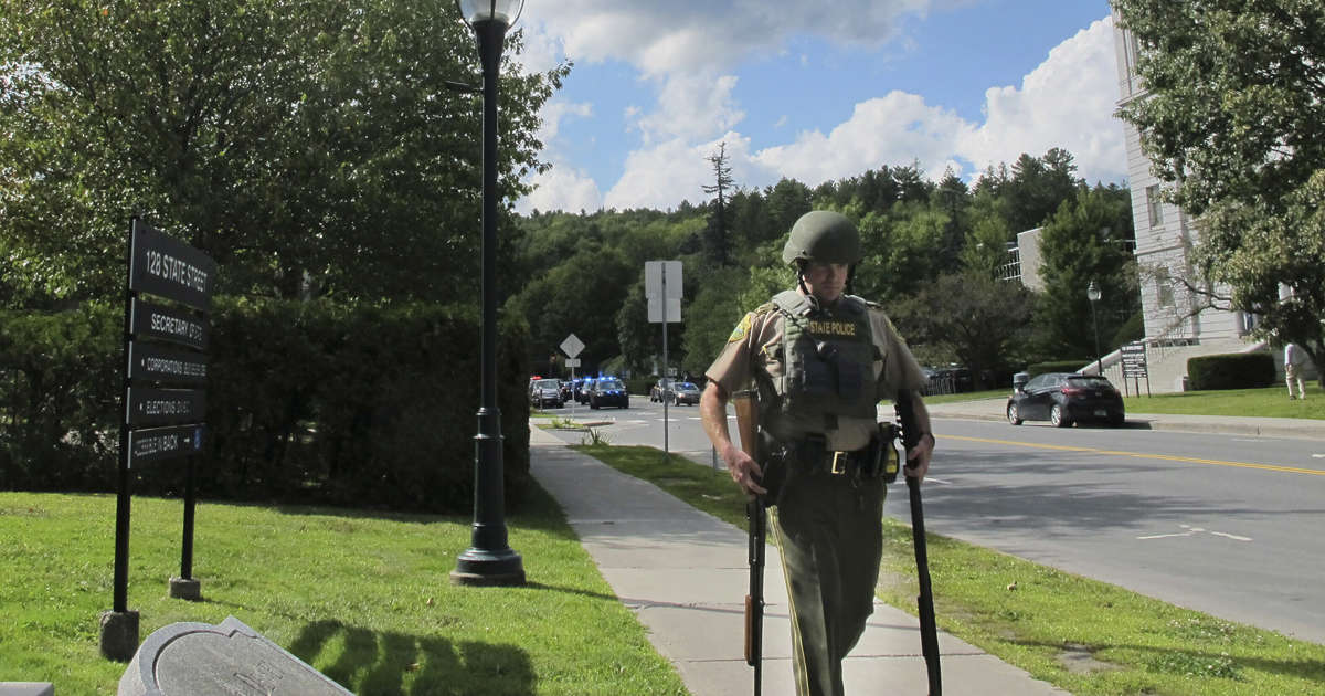 Lockdown lifted at Vermont capitol, no gunman found: official