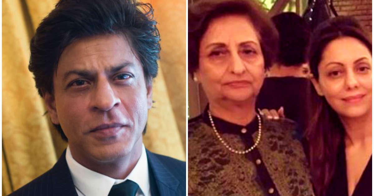 Shah Rukh Khan wishes mom-in-law on birthday: Always be as