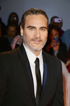 "TORONTO, ONTARIO - SEPTEMBER 09: Joaquin Phoenix attends the ""Joker"" premiere during the 2019 Toronto International Film Festival at Roy Thomson Hall on September 09, 2019 in Toronto, Canada. (Photo by George Pimentel/Getty Images for TIFF)"