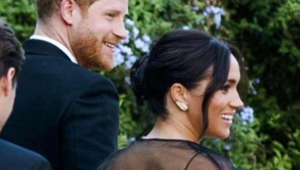 All dolled up! Prince Harry, Meghan Markle attend wedding in Rome