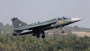 Tejas clears critical test before landing on aircraft carrier