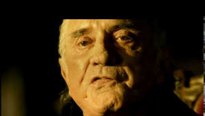 a close up of a man: Music video by Johnny Cash performing Hurt. (C) 2002 American Recording Company, LLC  http://vevo.ly/ppWJIT