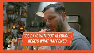 a man in a red shirt: Forget Dry January. We challenged our writer to go without booze for 100 days.   It wasn't easy. Over the course of three months, he fell off the wagon and found that he was replacing his drinking habits with sugar. He also discovered some startling facts about his health and the changes that were going on inside his body.   This is his journey.  Read more on Men's Health UK https://bit.ly/2yUcYX9