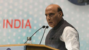 Rajnath slams Congress over Rafale puja criticism