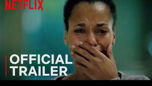 a man holding a sign: It's 3am on a rainy night in South Florida, and mother Kendra Ellis-Connor (Kerry Washington) paces anxiously in a police station waiting room as she tries to piece together what may have happened to her missing son. Faced with a series of infuriating unanswered questions, she navigates a system of unconscious bias, interweaving perspectives, and a tense marital dynamic with her ex-husband (Steven Pasquale) as they try to uncover the truth about their son's whereabouts.  Based on the acclaimed Broadway play, and also featuring reprised roles by Jeremy Jordan and Eugene Lee, AMERICAN SON is an emotional depiction of modern day race dynamics and systemic tensions.   Watch American Son, only on Netflix: https://www.netflix.com/title/81024100  SUBSCRIBE: http://bit.ly/29qBUt7  About Netflix: Netflix is the world's leading internet entertainment service with over 151 million paid memberships in over 190 countries enjoying TV series, documentaries and feature films across a wide variety of genres and languages. Members can watch as much as they want, anytime, anywhere, on any internet-connected screen. Members can play, pause and resume watching, all without commercials or commitments.  Kerry Washington | American Son | Official Trailer | Netflix http://youtube.com/netflix  Time passes and tension mounts in a Florida police station as an estranged interracial couple awaits news of their missing teenage son.