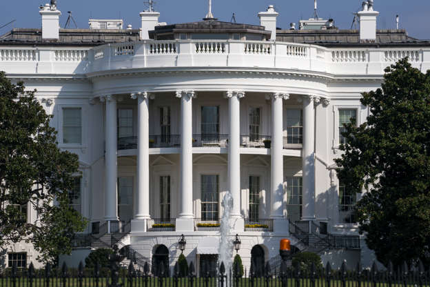 The White House is under siege.