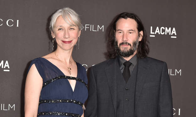 Slide 1 of 72: LOS ANGELES, CALIFORNIA - NOVEMBER 02: Alexandra Grant and Keanu Reeves attend the 2019 LACMA Art + Film Gala  at LACMA on November 02, 2019 in Los Angeles, California. (Photo by David Crotty/Patrick McMullan via Getty Images)