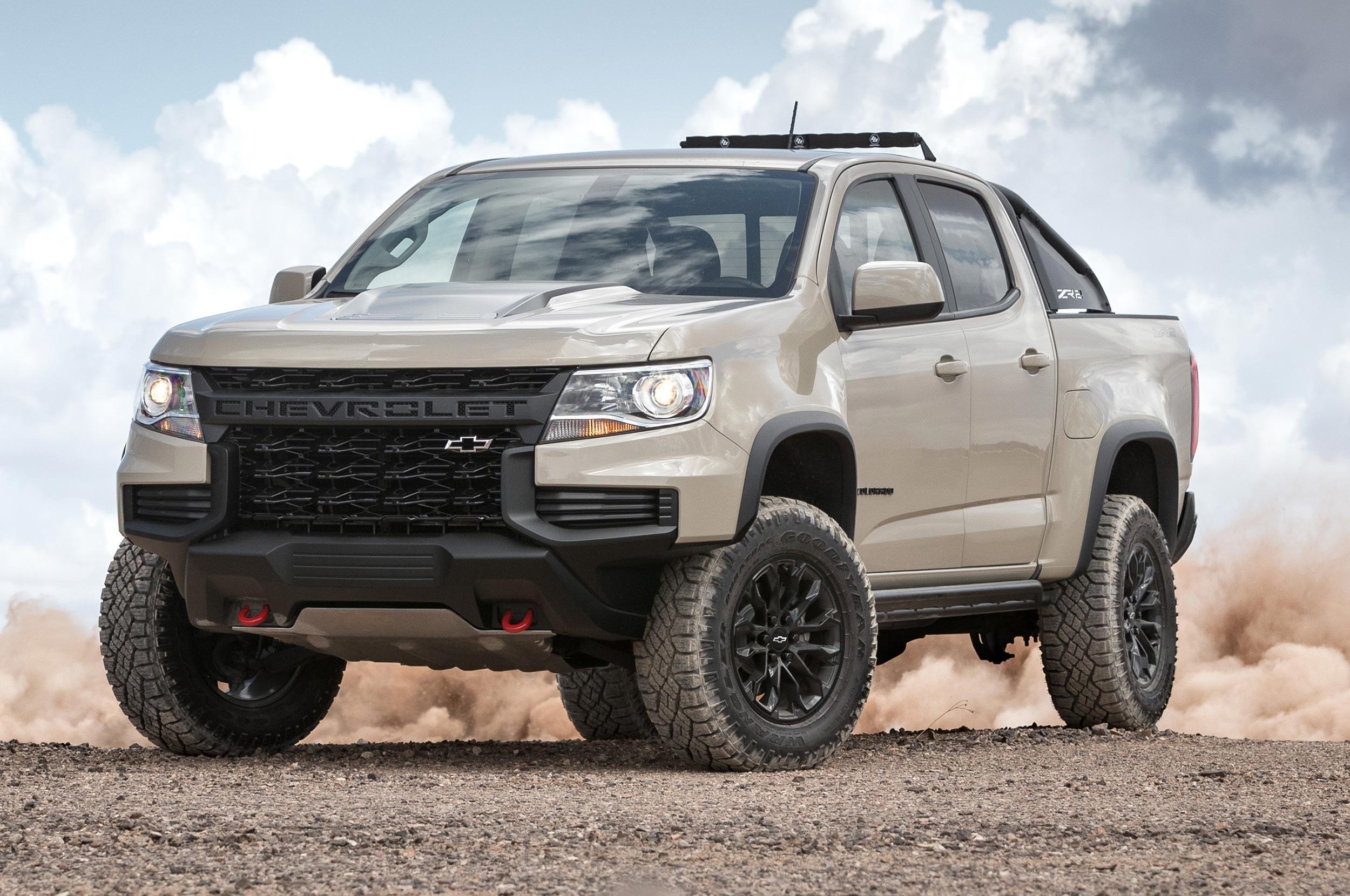 2021 Chevrolet Colorado Specs and Features - MSN Autos