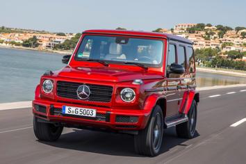 2020 Mercedes-Benz G-Class Overview - MSN Autos