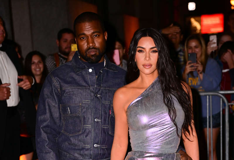FILE - NEW YORK, NY - OCTOBER 24:  (L-R) Kanye West and Kim Kardashian West arrive to Fashion Group International's 2019 Night of Stars at Cipriani Wall Street on October 24, 2019 in New York City.