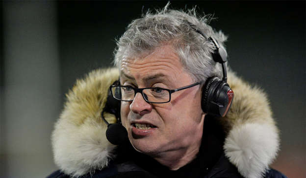 a close up of Joe Brolly wearing glasses and looking at the camera: Joe Brolly has filed a defamation case against RTÉ. Pic: Oliver McVeigh/Sportsfile