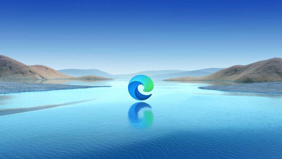 a body of water with a mountain in the background: Microsoft