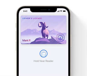 graphical user interface, application: Apple is making a big push to make the digital wallet even better by allowing you to ditch your driver's license if your state supports it. Image: Apple