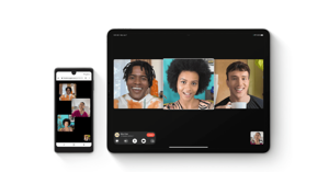 graphical user interface, application: FaceTime on Android