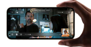 Apple iOS 15 will let you watch movies, TV shows and more with friends over FaceTime.