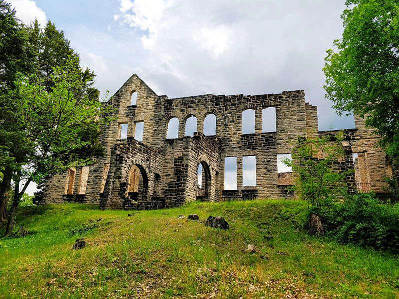 Castelo do Ha Ha Tonka State Park, na região de Ozark - Paulo Basso Jr.