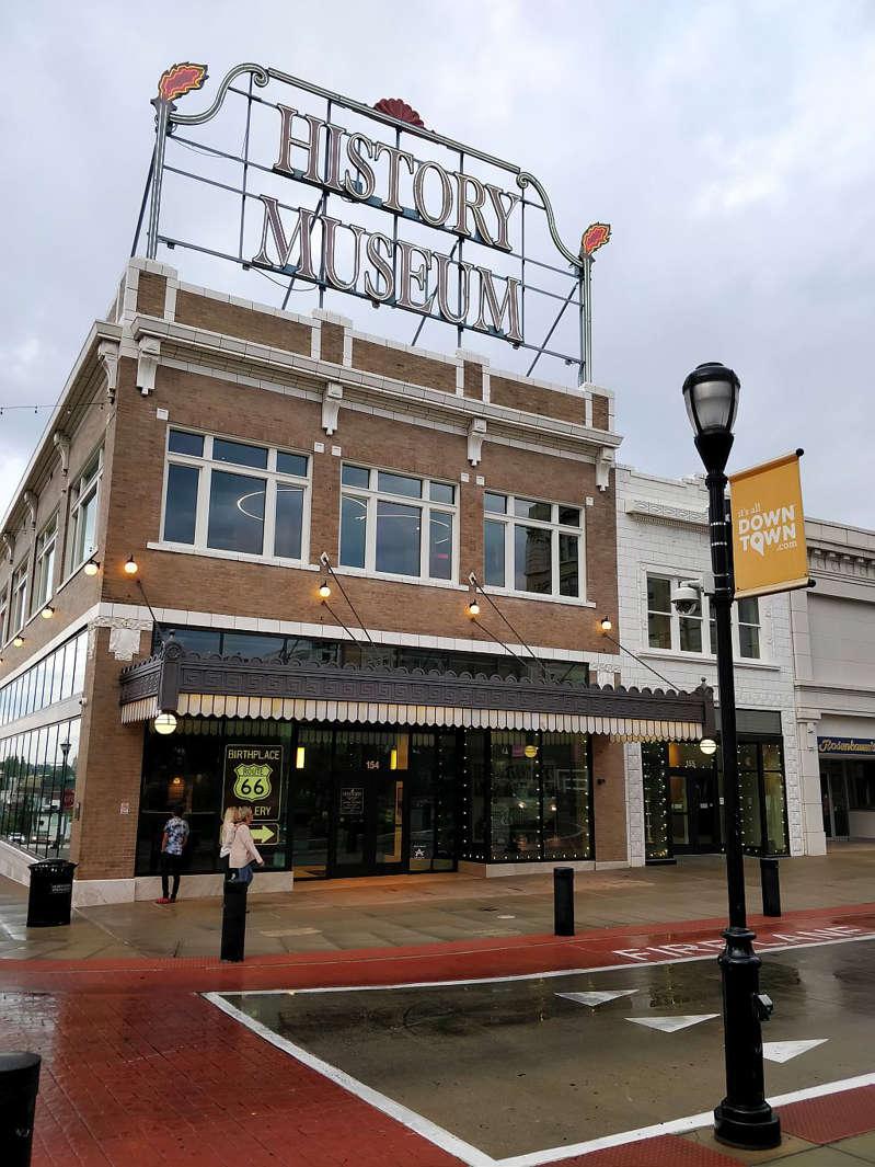 Museu da Rota 66 em Springfield, no Missouri - Paulo Basso Jr.