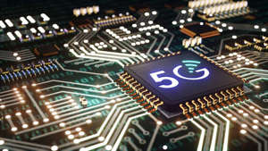 a circuit board: 5G chip