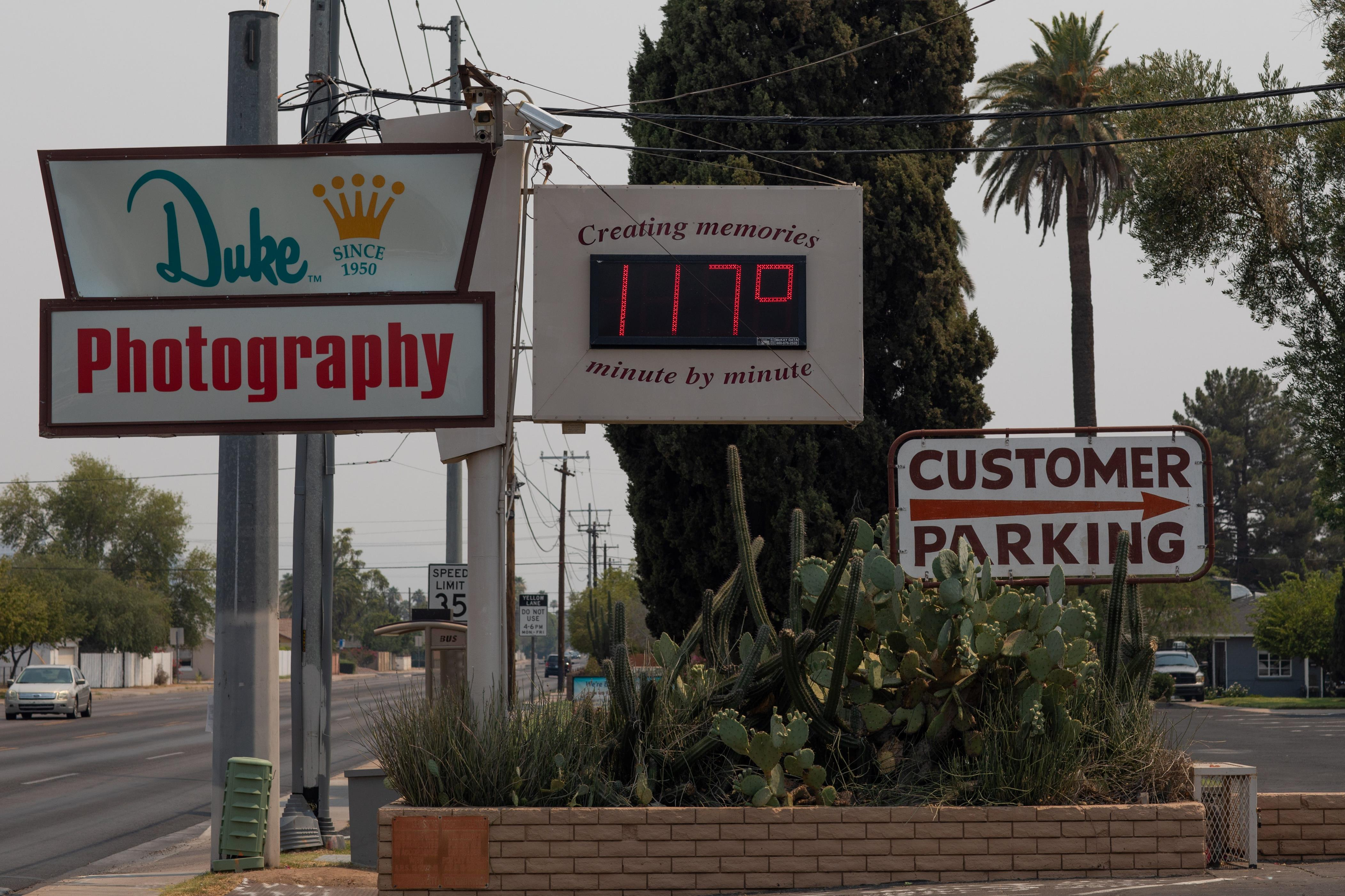 Fact check: Melted traffic lights, recycling bins, street signs were not caused by heat waves