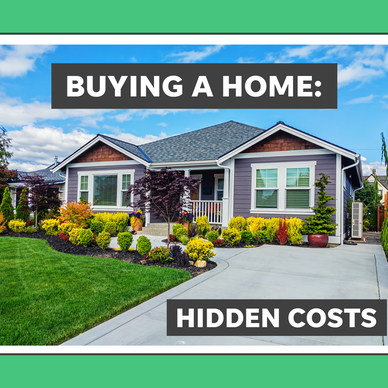 a sign on the side of a house: Hidden costs of buying a home: What you should know before putting down an offer