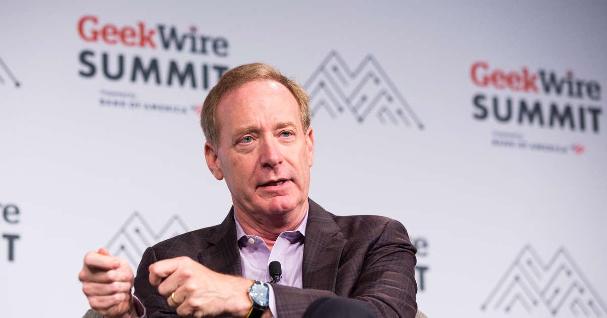 Microsoft names Brad Smith vice chair, plans $60B share buyback, sets Nov. 30 annual meeting