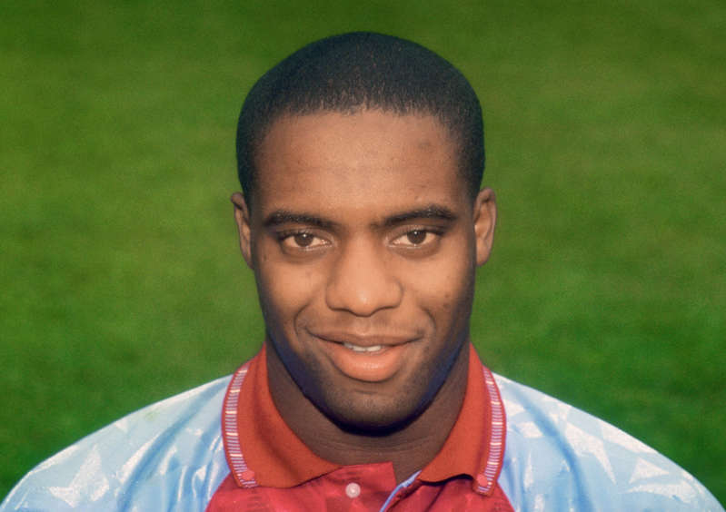 File photo dated 01-07-1991 of Dalian Atkinson, Aston Villa. Issue date: Tuesday May 4, 2021.