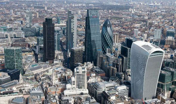 a view of a city: brexit city of london financial services