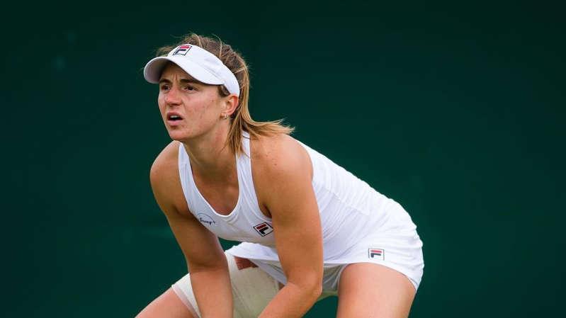 La rosarina de 24 años quedó eliminada en segunda ronda en su primera presentación en Wimbledon.