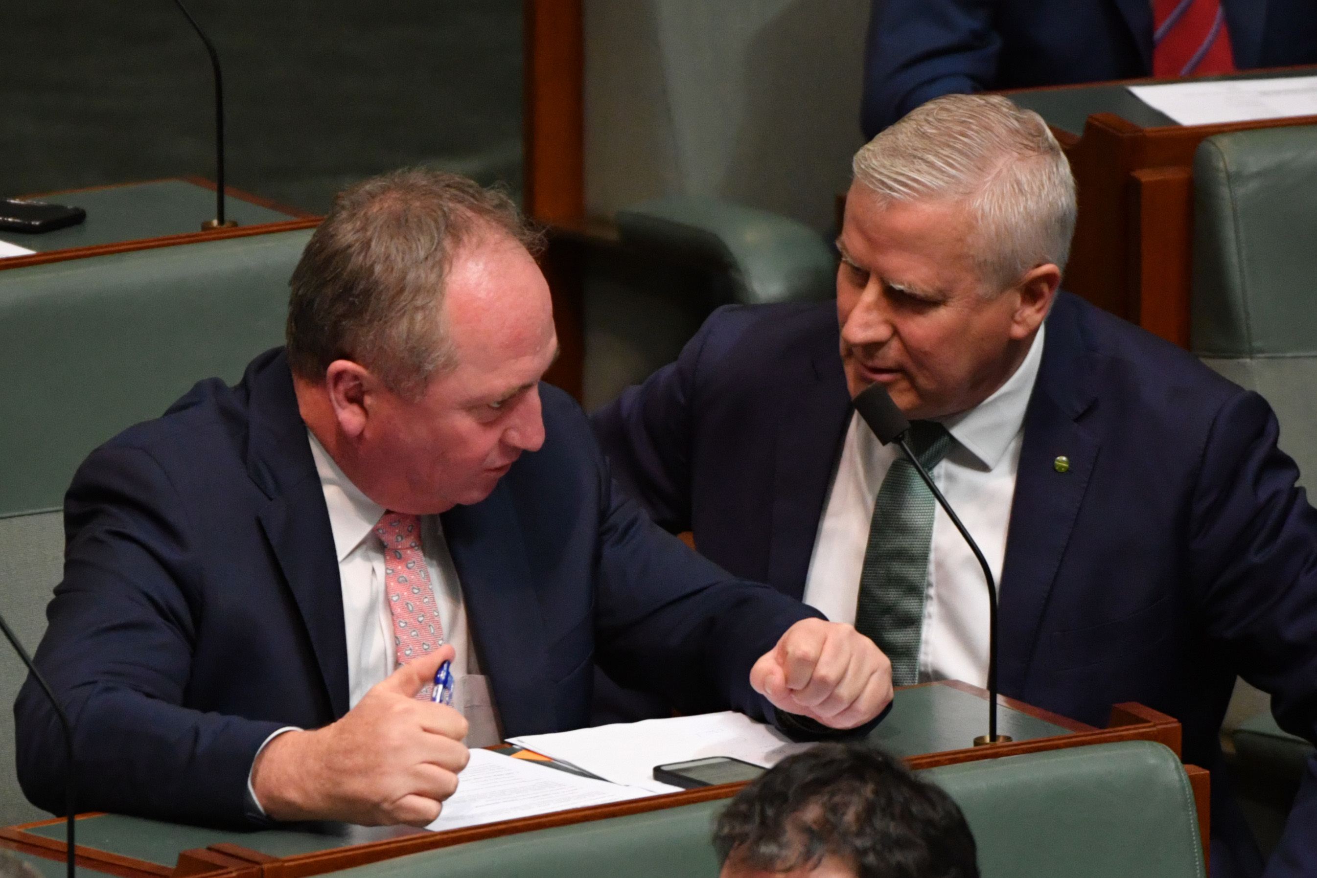 Joyce circles McCormack as Nationals' MPs consider switch