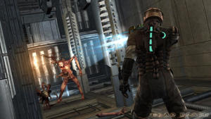 a person standing in front of a building: Games like Resident Evil - Dead Space