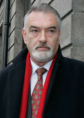 Ian Bailey wearing a suit and tie: Mr Bailey has been connected to the crime since the start, despite the fact that there is no forensic evidence linking him to the murder and no charges in Ireland were brought forward against him. Pic: Mark Stedman/RollingNews.ie