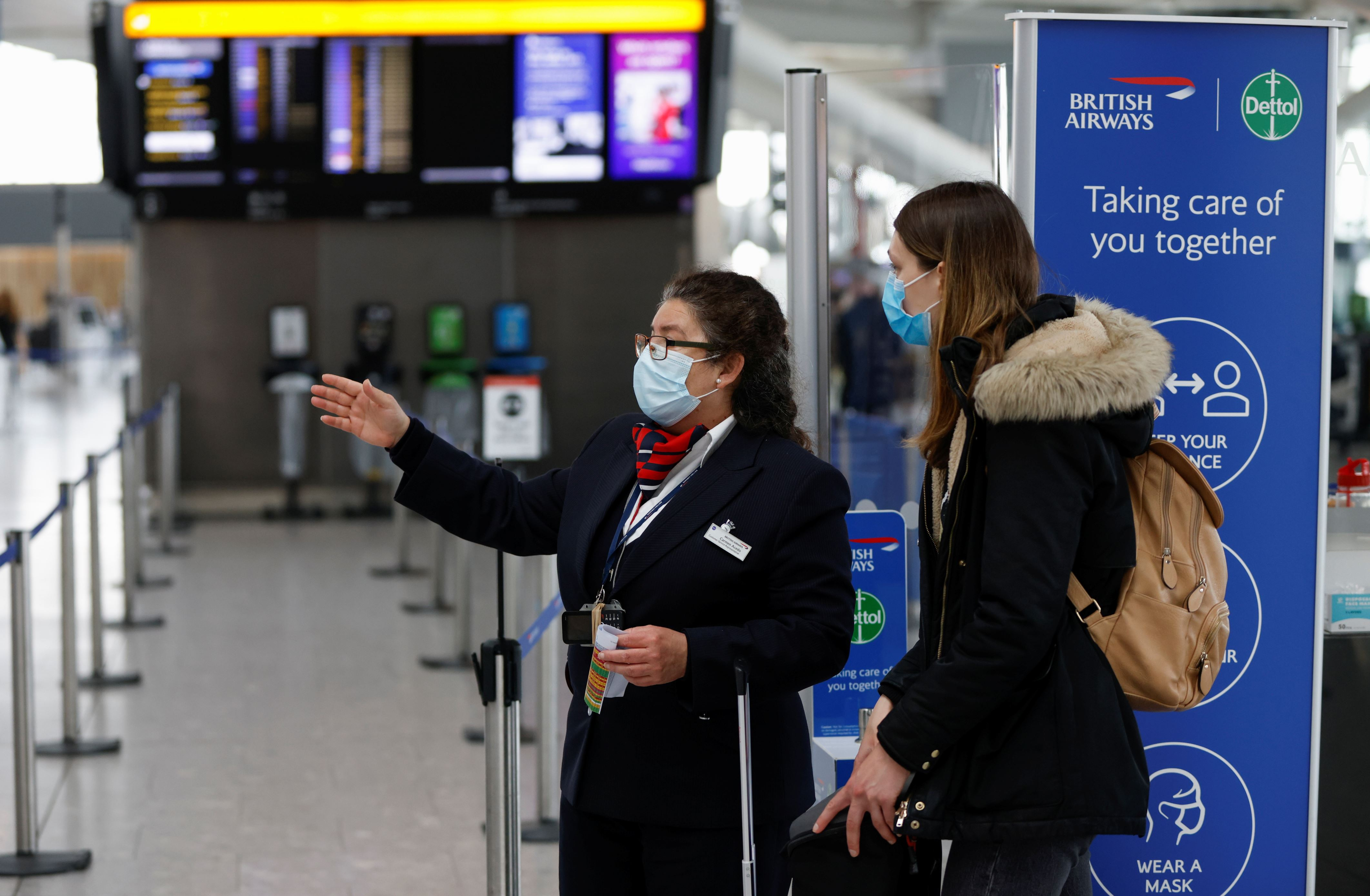 UK Covid travel rules could change at short notice, warns minister