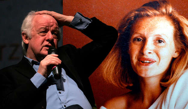 Jim Sheridan, Death of Sophie Toscan du Plantier are posing for a picture