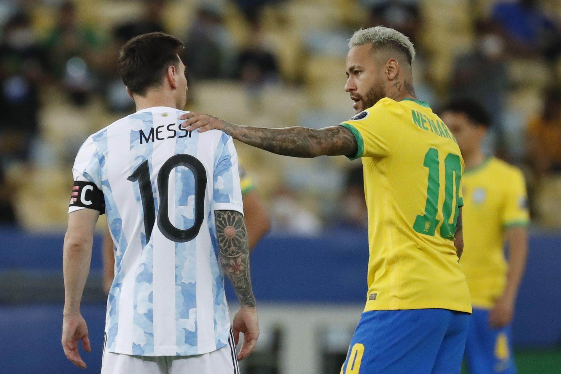 Tras derrota de Brasil, Lionel Messi no permitió las burlas hacia sus rivales durante los festejos previos